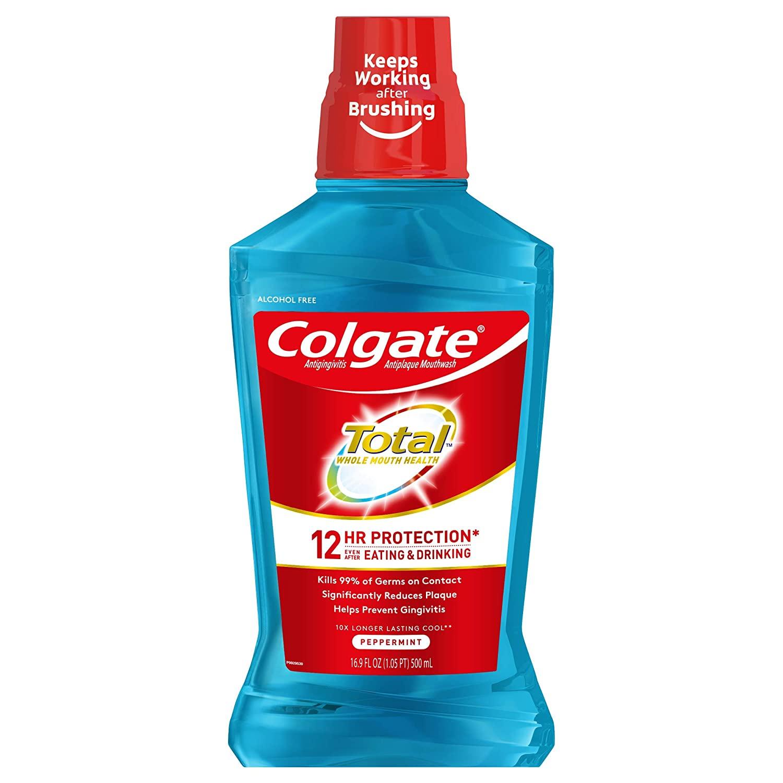 Colgate Mouthwash 500 mL Peppermint