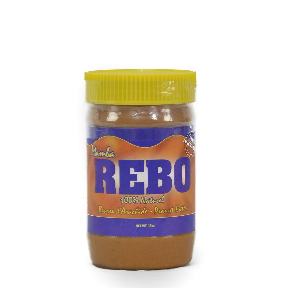 Peanut butter /Mamba Rebo 16 Oz