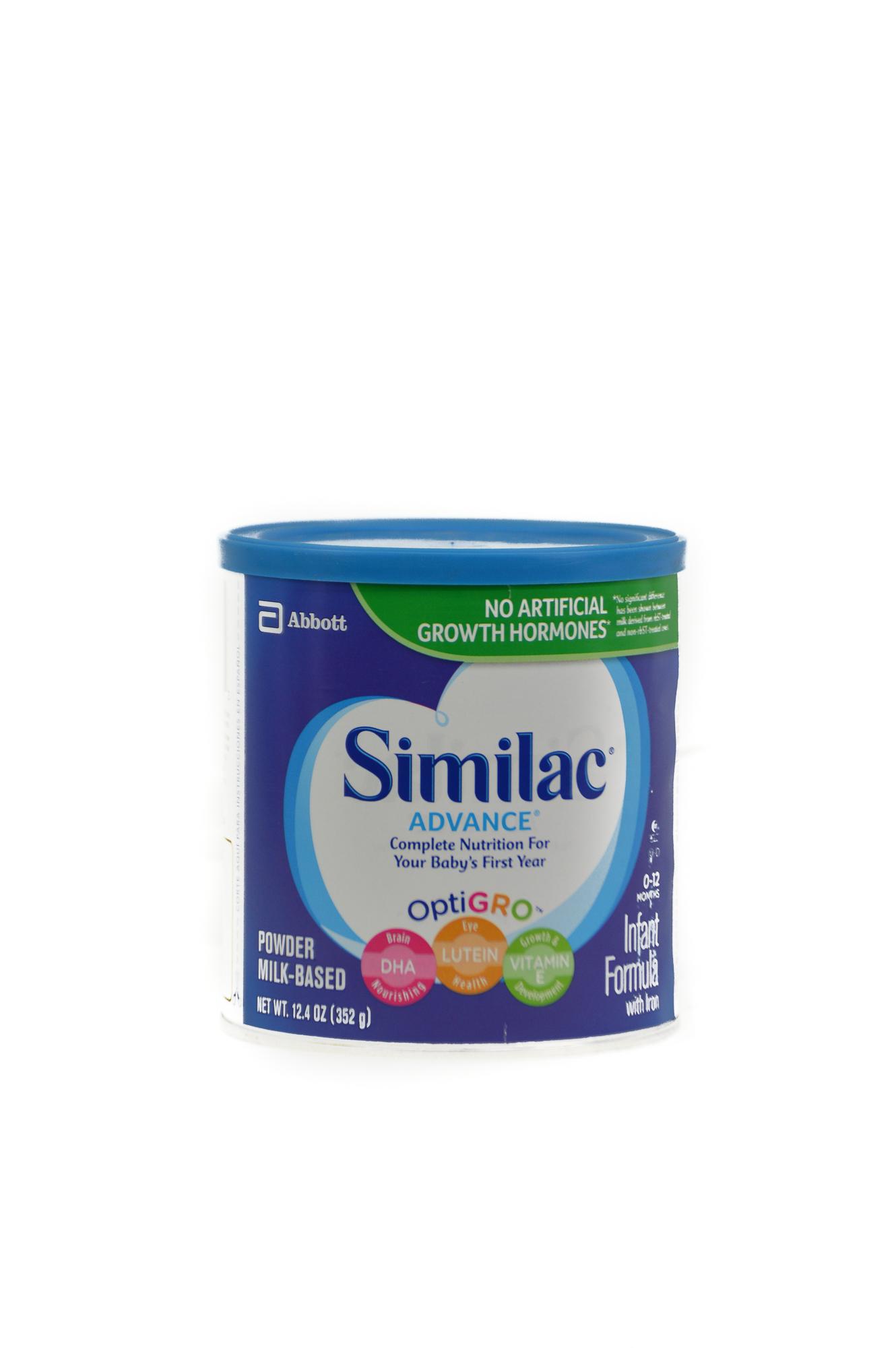 Similac Advance Milk Powder (0 - 12 months )(124 oz)