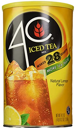 4 C Iced Tea in powder (4 lbs)