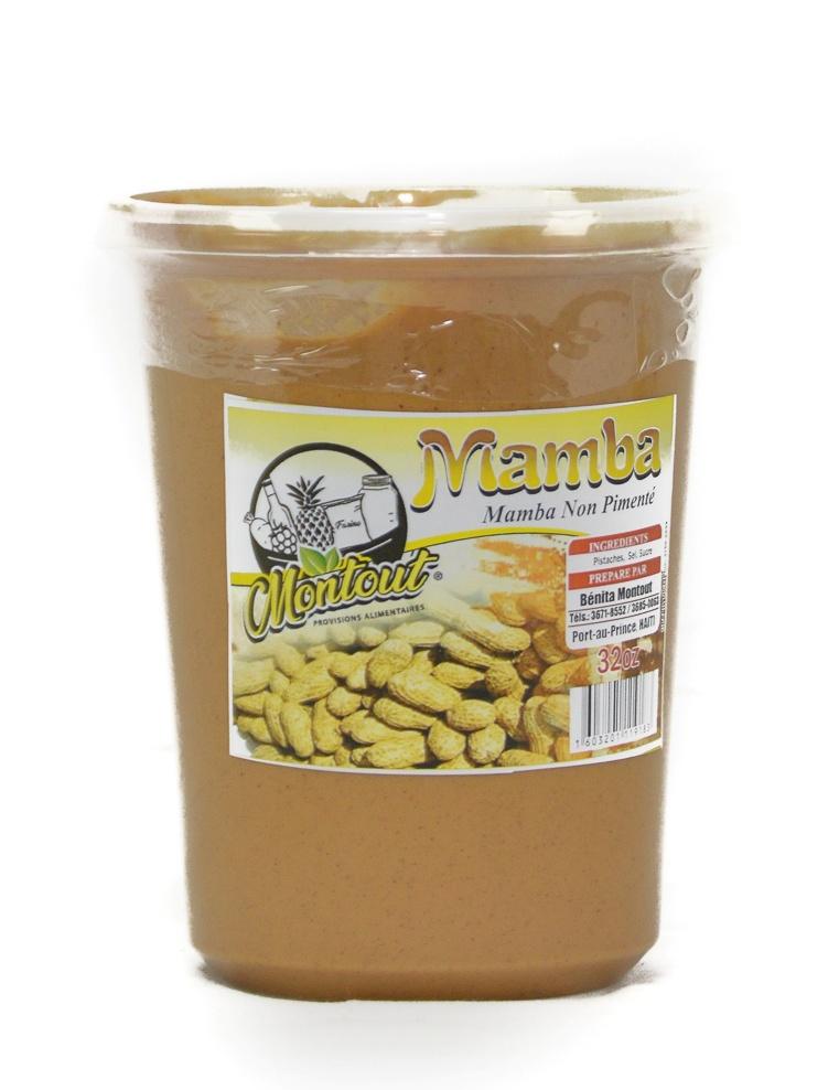 Peanut butter /Mamba Montout 32 Oz
