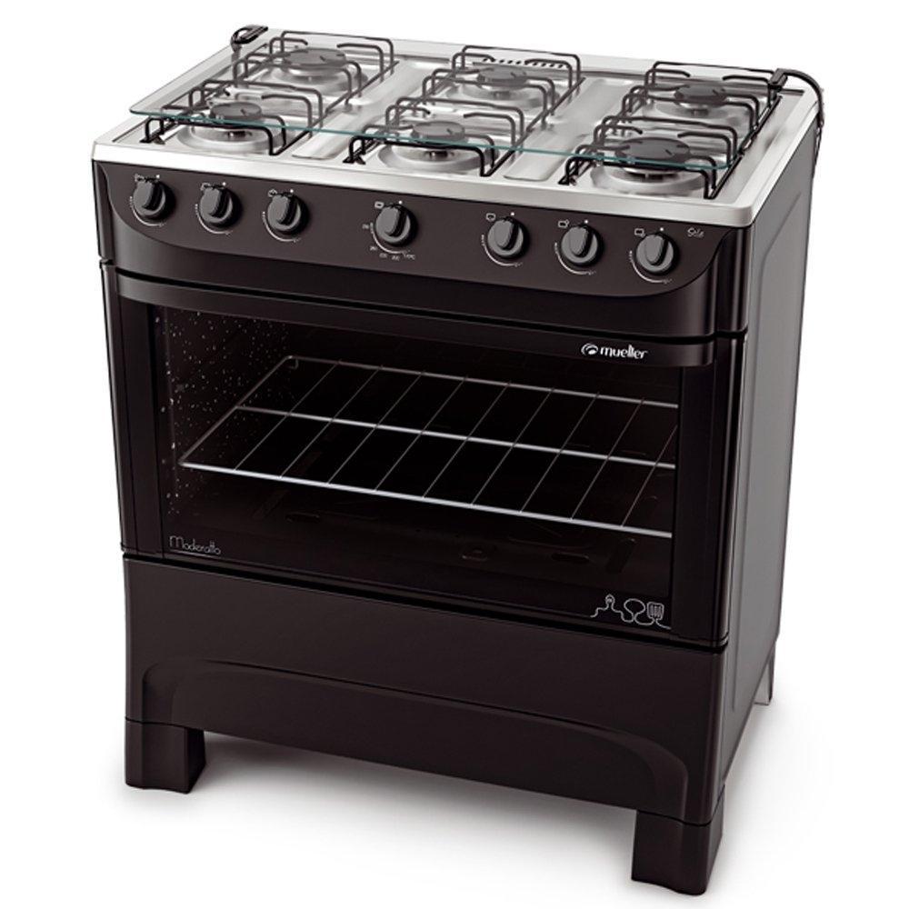Oven /Four a gaz Mueller 6 burners/foyers