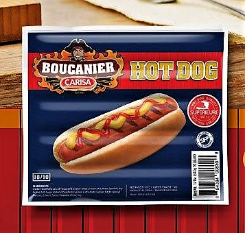 Hot Dog / Chiken Franks Boucanier