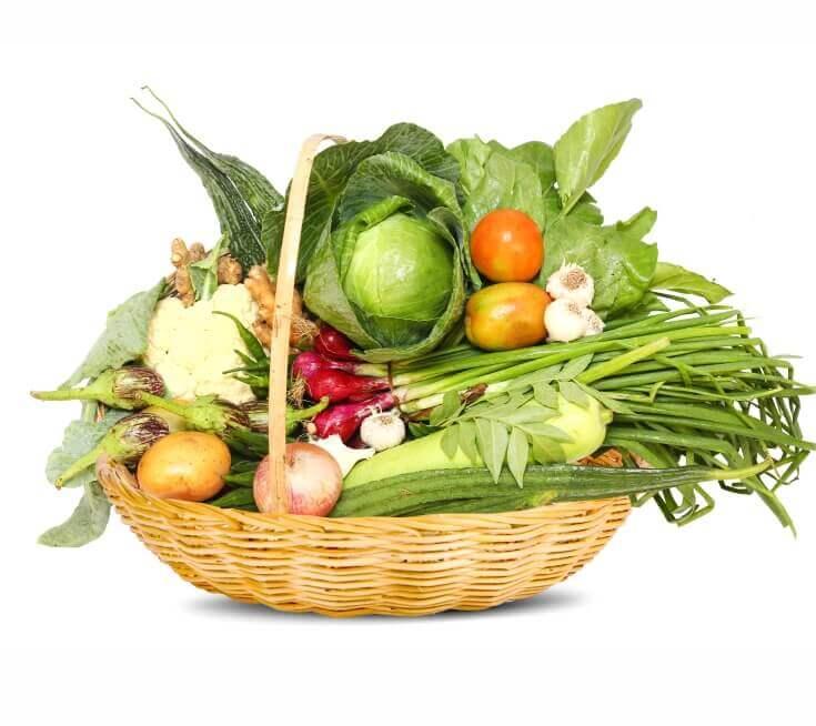 Vegetables Basket/ Legumes